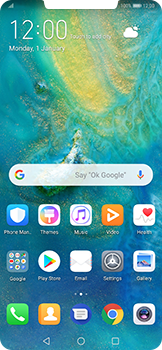 Huawei Mate 20 Pro - Voicemail - Manual configuration - Step 2