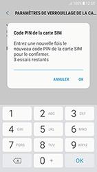 Samsung Galaxy J3 (2017) - Sécuriser votre mobile - Personnaliser le code PIN de votre carte SIM - Étape 10