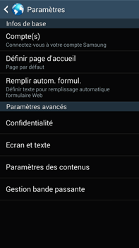 Samsung N9005 Galaxy Note III LTE - Internet - Configuration manuelle - Étape 22