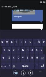 Nokia Lumia 900 - MMS - Sending pictures - Step 11