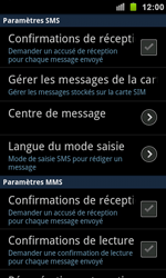 Samsung I9100 Galaxy S II - SMS - configuration manuelle - Étape 4