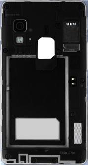 LG Optimus L5 II - Primeros pasos - Quitar y colocar la batería - Paso 4