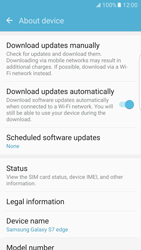 Samsung Galaxy S7 edge (G935) - Network - Installing software updates - Step 6