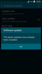 Samsung Galaxy S5 G900F - Network - Installing software updates - Step 10