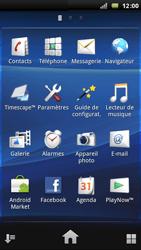 Sony Ericsson Xperia Arc - MMS - envoi d'images - Étape 2