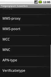 Samsung I5700 Galaxy Spica - MMS - Handmatig instellen - Stap 11