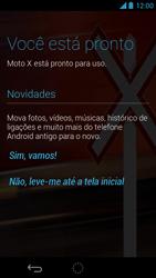 Motorola Moto X - Primeiros passos - Como ativar seu aparelho - Etapa 10