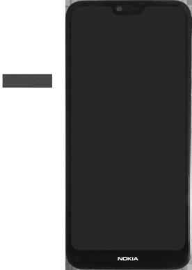 Nokia 7.1 - Premiers pas - Insérer la carte SIM - Étape 2