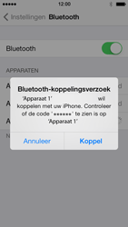 Apple iPhone 5 iOS 7 - Bluetooth - Koppelen met ander apparaat - Stap 6