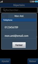 Samsung Wave 2 - Contact, Appels, SMS/MMS - Envoyer un SMS - Étape 7