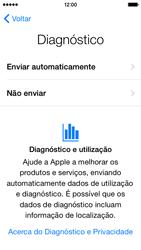 Apple iPhone 5s iOS 8 - Primeiros passos - Como ligar o telemóvel pela primeira vez -  20