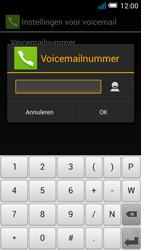 Alcatel OT-5036X Pop C5 - Voicemail - handmatig instellen - Stap 10