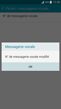 Samsung N910F Galaxy Note 4 - Messagerie vocale - configuration manuelle - Étape 12
