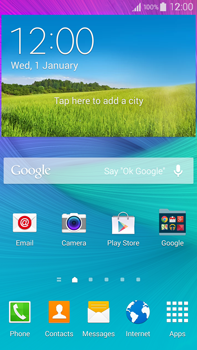 Samsung N910F Galaxy Note 4 - E-mail - Manual configuration (gmail) - Step 1