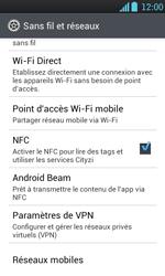 LG P700 Optimus L7 - Réseau - utilisation à l'étranger - Étape 8