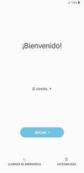 Samsung Galaxy Note 8 - Primeros pasos - Activar el equipo - Paso 4