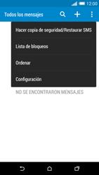 HTC One M8 - Mensajería - Configurar el equipo para mensajes de texto - Paso 6