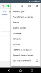 Sony Sony Xperia X (F5121) - Internet - Navigation sur Internet - Étape 8