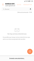 Samsung Galaxy S6 - Android Nougat - E-mail - Escribir y enviar un correo electrónico - Paso 17