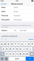 Apple iPhone 6 - Applicaties - Account instellen - Stap 22