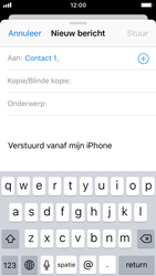 Apple iPhone 5s - iOS 11 - E-mail - E-mail versturen - Stap 6