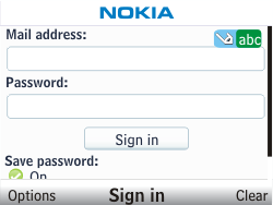 Nokia C3-00 - E-mail - Manual configuration - Step 6