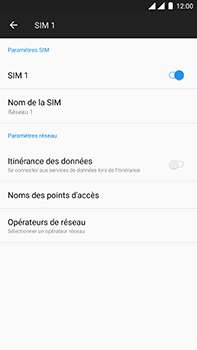 OnePlus 3 - Android Oreo - MMS - Configuration manuelle - Étape 6