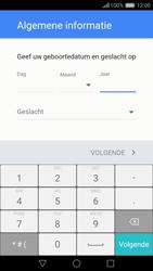 Huawei Nova - Applicaties - Account instellen - Stap 7