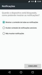 Alcatel Idol 4 VR - Segurança - Como ativar o código de bloqueio do ecrã -  12