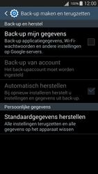 Samsung I9301i Galaxy S III Neo - Toestel reset - terugzetten naar fabrieksinstellingen - Stap 5