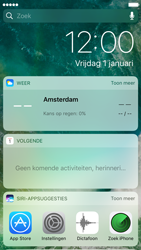 Apple iPhone 6s iOS 10 - iOS features - Vergrendelscherm - Stap 3