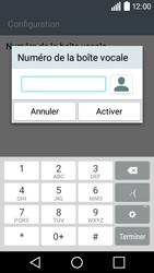LG H320 Leon 3G - Messagerie vocale - configuration manuelle - Étape 9