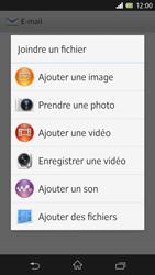 Sony C6603 Xperia Z - E-mail - envoyer un e-mail - Étape 10