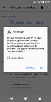 Sony Xperia XZ2 - Internet - Désactiver les données mobiles - Étape 7