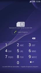 Sony Xpéria T3 - Premiers pas - Créer un compte - Étape 2