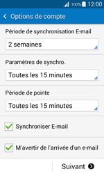 Samsung G357 Galaxy Ace 4 - E-mail - Configuration manuelle - Étape 18