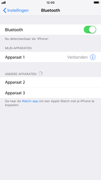 Apple iPhone 8 Plus - iOS 12 - Bluetooth - koppelen met ander apparaat - Stap 8