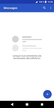Sony Xperia XZ2 - Contact, Appels, SMS/MMS - Envoyer un SMS - Étape 4