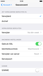 Apple iPhone 6 iOS 8 - E-mail - Account instellen (POP3 met SMTP-verificatie) - Stap 23