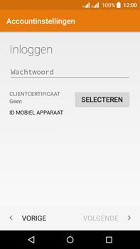 Acer Liquid Z630 - E-mail - Handmatig instellen (outlook) - Stap 7