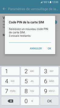 Samsung Samsung Galaxy J7 (2016) - Sécuriser votre mobile - Personnaliser le code PIN de votre carte SIM - Étape 9