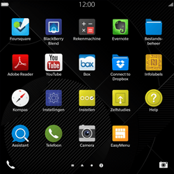 BlackBerry Passport - WiFi en Bluetooth - Handmatig instellen - Stap 3