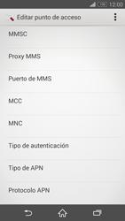 Sony Xperia Z3 - Mensajería - Configurar el equipo para mensajes multimedia - Paso 12