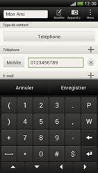 HTC One S - Contact, Appels, SMS/MMS - Ajouter un contact - Étape 8