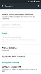 HTC U Play - Sécuriser votre mobile - Personnaliser le code PIN de votre carte SIM - Étape 5