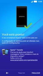 Sony Xperia M4 Aqua - Primeiros passos - Como ativar seu aparelho - Etapa 10