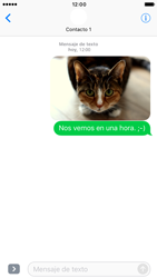 Apple iPhone 6s iOS 10 - Mensajería - Escribir y enviar un mensaje multimedia - Paso 16