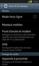 Samsung Galaxy S3 Mini - Internet et connexion - Partager votre connexion en Wi-Fi - Étape 5