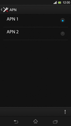 Sony C5303 Xperia SP - Internet - Configuration manuelle - Étape 16