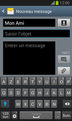 Samsung S7390 Galaxy Trend Lite - MMS - Envoi d